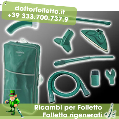Dottor folletto ricambi ed accessori per vorwerk folletto - Picchio folletto vk 140 ...